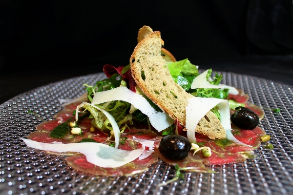 Gourmet Restaurant, Villa Patriot - Carpaccio